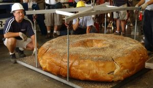 the world's largest bagel